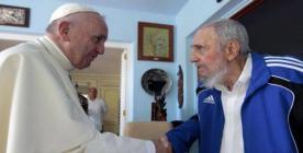 Papa Francisco visita a Fidel Castro