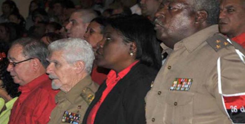 Dedican a Fidel Castro gala político-cultural por aniversario 60 del Levantamiento de Santiago de Cuba